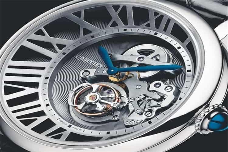 卡地亚手表售后维修手表进水生锈