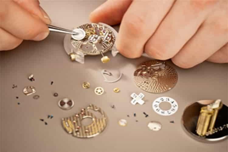 宝玑手表维修手表按钮